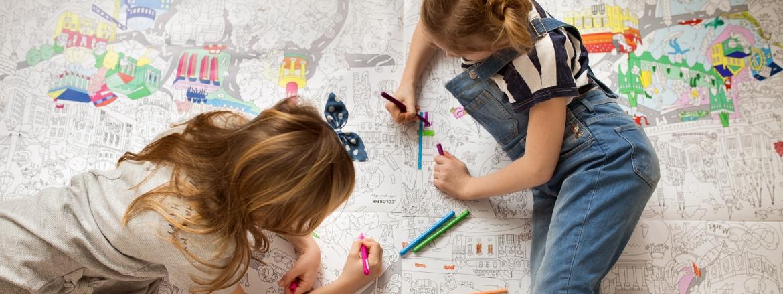 Tolle Ausmalposter für Kinder | Coloreo